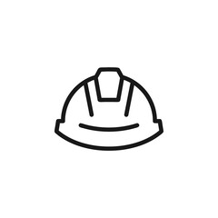 Safety helmet icon vector illustration