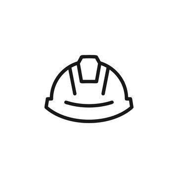 Safety helmet icon vector illustration