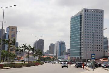 Canvas Prints Countryside downtown Luanda