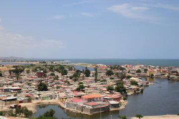 view of the city of Luanda