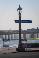 Ocean Beach corner of Newport Ave and Abbott Ave