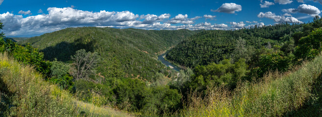 Auburn, California in Placer County and American RIver-001