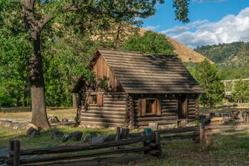 Log Cabin Home at Coloma, California-001