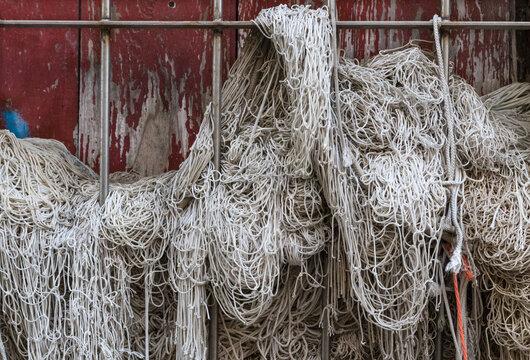 Chioggia (Venezia) rete da pesca