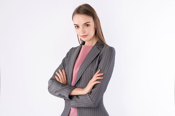 Working Woman with business attire