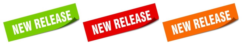 Fototapeta new release sticker. new release square isolated sign. new release label obraz