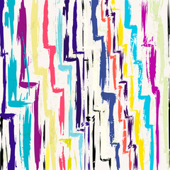 abstract background, with strokes and splashes, zigzag pattern
