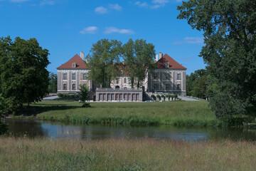 Pałac książęcy w Żaganiu.