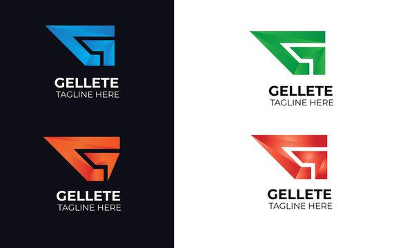G letter logo design modern G letter logo