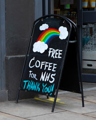 Free Coffee for NHS Workers During the Coronavirus Pandemic