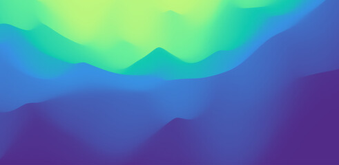 Wall Mural - Mysterious landscape background. Mystic vector Illustration. Trendy gradients. Can be used for advertising, marketing, presentation.