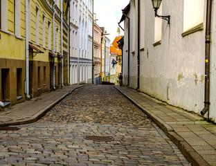 Fond de hotte en verre imprimé Bestsellers Streets And Old Town