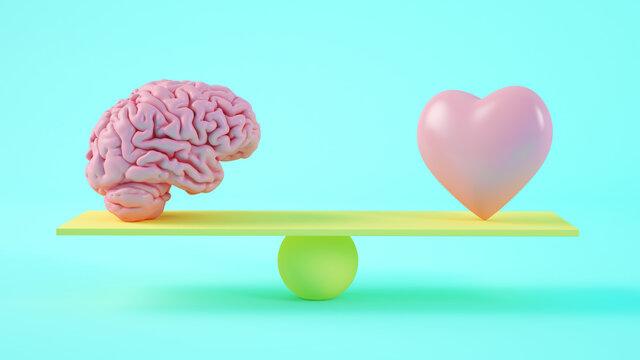 brain versus heart