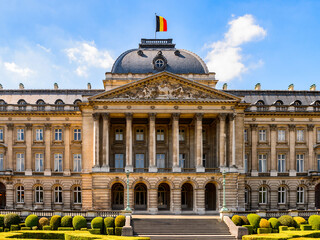 It's Royal Palace of Brussels, Belgium