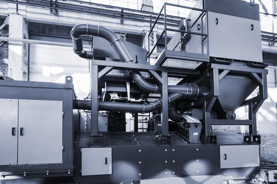 new sandblasting machine for modern factory