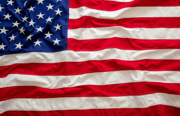 USA  flag, US of America sign symbol background texture.