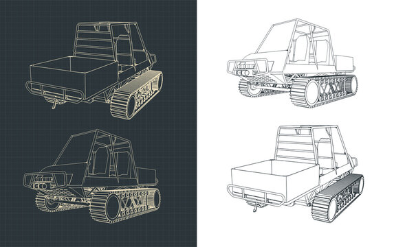 All-terrain vehicle sketches