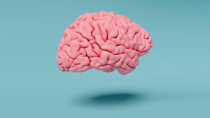 Fototapeta 3D  brain abstract wallpaper background