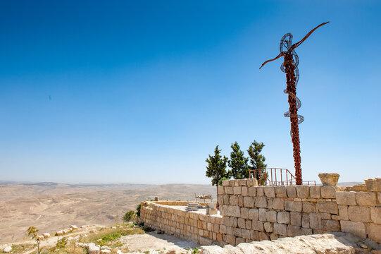 It's Brazen Serpent of Moses, Mount Nebo