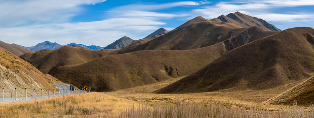 Lindis Valley, South Island, New Zealand