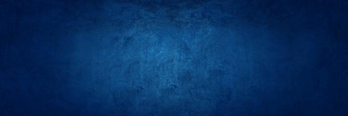 Fototapeta dark blue texture cement wall background obraz