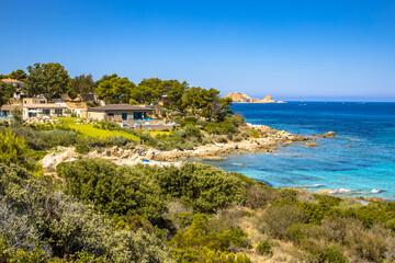 Wall Mural - east coast of Corsica