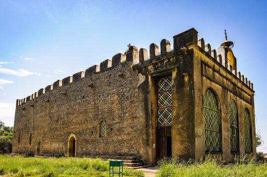 It's The Chapel of the Tablet, Axum, Ethiopia