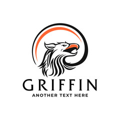 Griffin or Eagle Logo Template