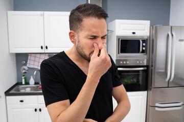 Bad Smell Or Odor In Kitchen Sink