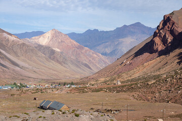 Village de Puente del Inca, Mendoza, Argentine
