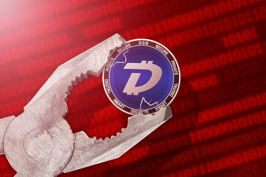 DigiByte regulation or control; DigiByte DGB cryptocurrency coin is under pressure; limitation, prohibition, illegally