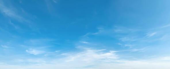 Fototapeta panorama blue sky with cloud and sunshine background obraz
