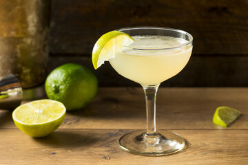 Boozy Rum and LIme Daiquiri