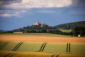 Ronneburg in der Sommerlandschaft