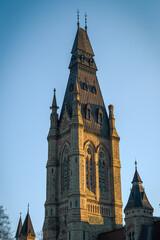 Mackenzie Tower in Ottawa's Parliament Buildings