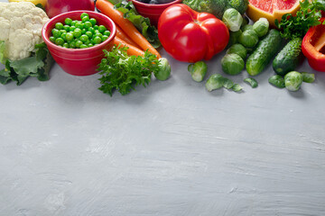 Wall Mural - Fresh vegetables