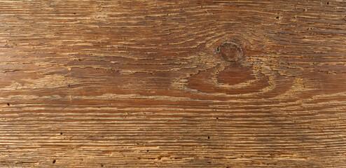 Obraz Stara, brązowa gruba deska. - fototapety do salonu