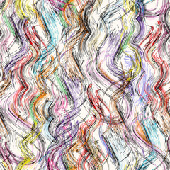seamless pattern background, with waves, stripes, strokes and splashes