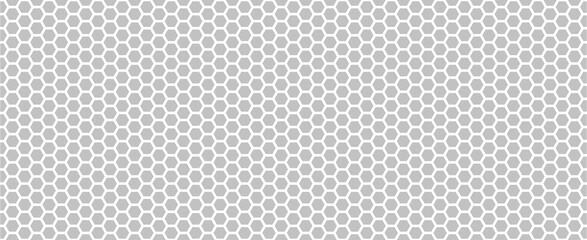 Foto op Plexiglas Kunstmatig Hexagon seamless pattern. Hexagon grey background. Vector