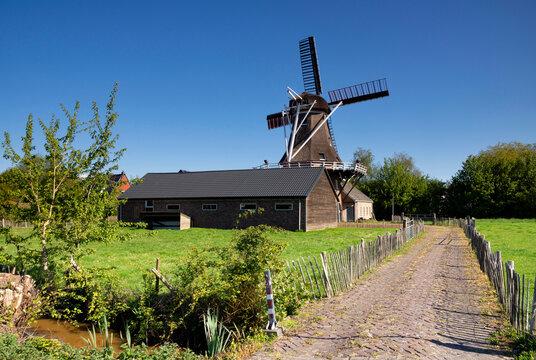 Windmill in Surhuisterveen
