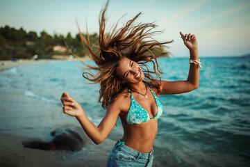 I Am Wild And Free Like The Beach