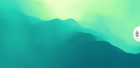 Wall Mural - Mountain landscape. Mountainous terrain. Vector illustration. Abstract background.