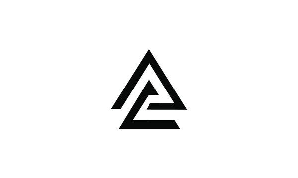 AC initial logo vector