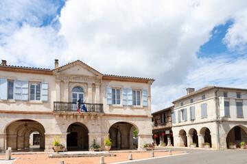 Village de Dunes dans le Tarn-et-Garonne, France