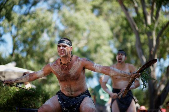 Aboriginal Dancers Performing