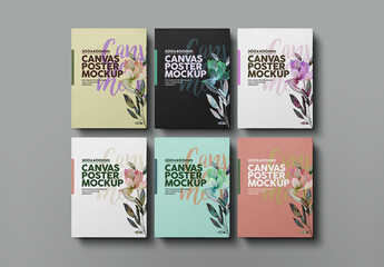 Canvas Posters Mockup