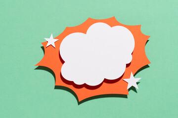 Paper cloud effect