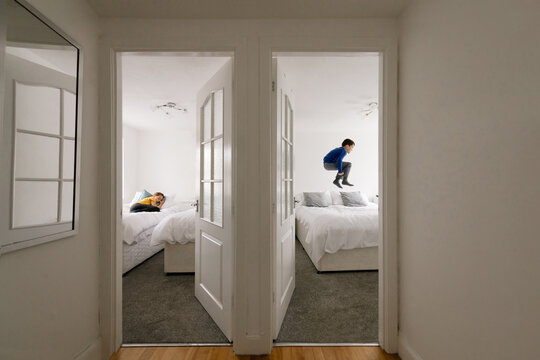 Children In Their Rooms