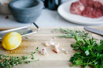 Roast lamb seasoning