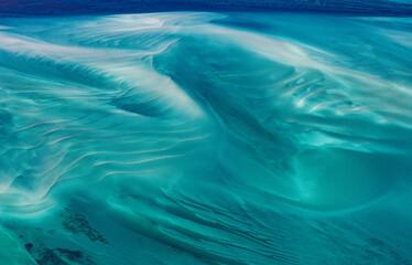 desert in the ocean